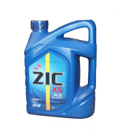Моторное масло ZIC Х5 5W30