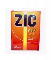 Масло трансмиссионное АКПП ZIC ATF SP 3